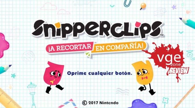 """<span class=""""entry-title-primary"""">[REVIEW] Snipperclips para Nintendo Switch.</span> <span class=""""entry-subtitle"""">Un juego de puzzle con retos y mucha diversión.</span>"""
