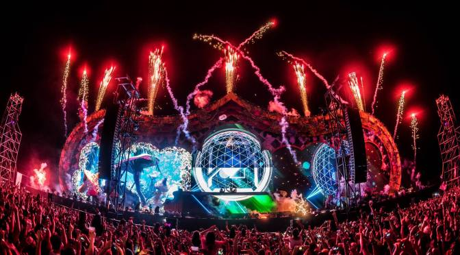 Alucinante debut del festival Beyond Wonderland México 2017