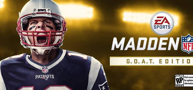 Tom Brady, portada de Madden NFL 18