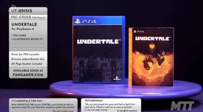 """<span class=""""entry-title-primary"""">[E3 – 2017] – ¡Undertale llegará a PS4!…y al PS Vita</span> <span class=""""entry-subtitle"""">You are gonna have...¡A FUN TIME!</span>"""