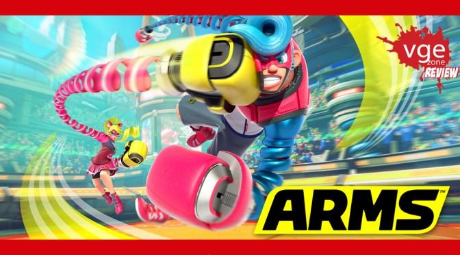 """<span class=""""entry-title-primary"""">[Review] – ARMS</span> <span class=""""entry-subtitle"""">¡Reseñamos la NUEVA IP de Nintendo!</span>"""