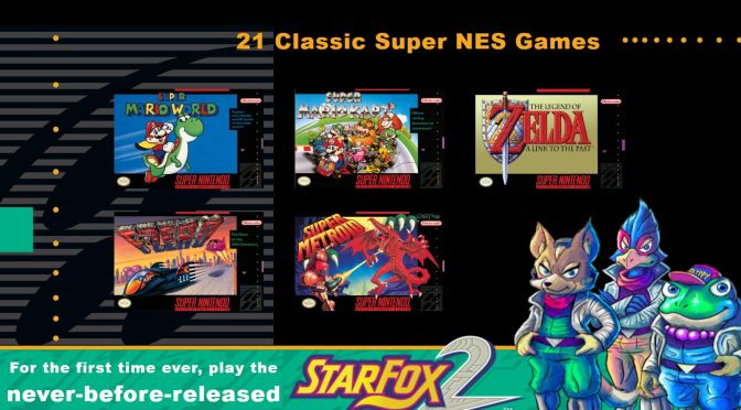 """<span class=""""entry-title-primary"""">El SNES Classic Edition llega este próximo septiembre</span> <span class=""""entry-subtitle"""">Ahora jugaremos con súper poder en miniatura… ¡y con Star Fox 2!</span>"""
