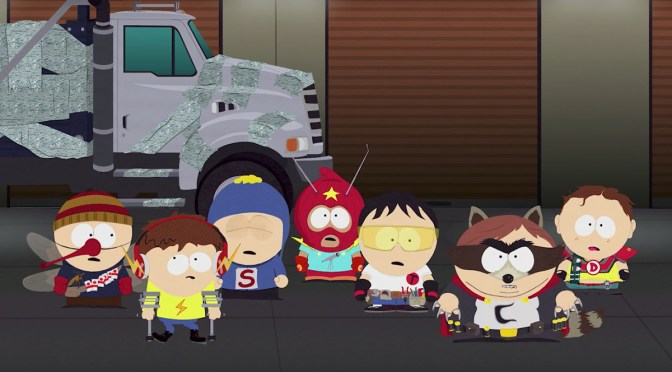 """<span class=""""entry-title-primary"""">[E3 2017] Un nuevo tráiler de South Park The Fractured but Whole llega para llenarnos de risas</span> <span class=""""entry-subtitle"""">Los chicos de colorado estuvieron presentes en la E3 2017</span>"""