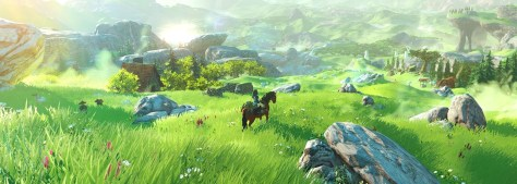 Open World Zelda