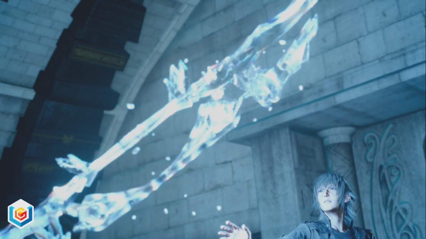 Final Fantasy XV The Sword In The Waterfall Main Quest