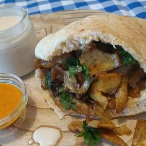 Vegan Israeli Shawarma Recipe