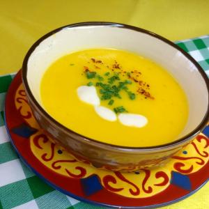 Yellow Bell Pepper Cream Soup Recipe