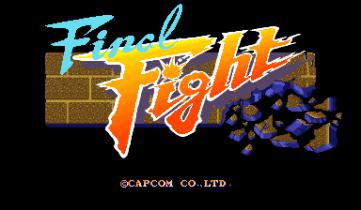 Final Fight - Arcade - 0 - Logo