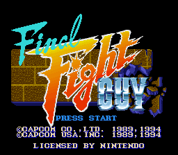 Final Fight Guy - SNES - 3