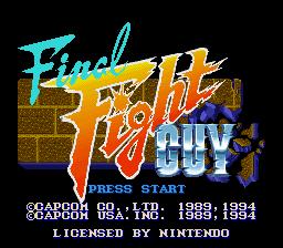 Final Fight Guy - SNES - 3