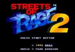 Streets of Rage 2 - 0 - Logo