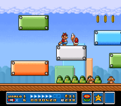 Super Mario Bros 3 - SNES