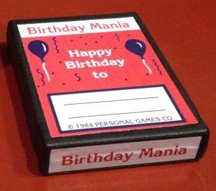 Birthday Mania Pack