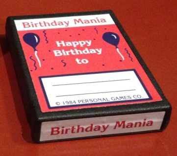 Birthday Mania Pack