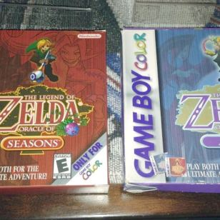 Legend of Zelda Oracle Pack