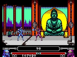 Masters of Combat Screen 2