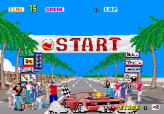 Sega Out Run Start