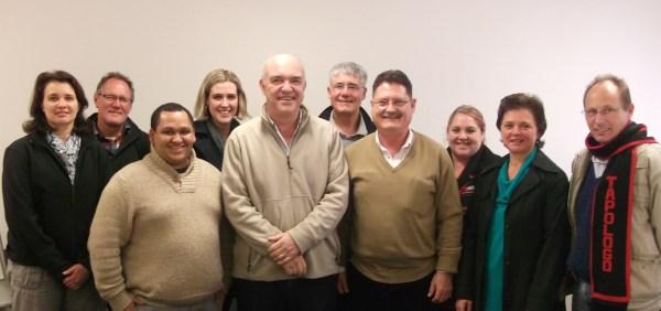 Deelnemers van die VBO Webtuiste Werkswinkel in Stellenbosch by Communitas.