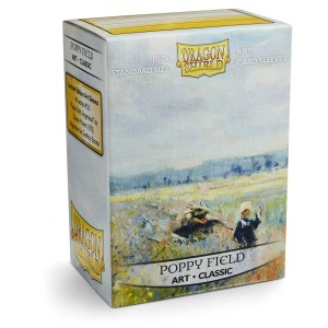 Dragon Shield: Classic Poppy Field (100) Protective Sleeves