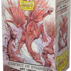 Dragon Shield: Matte Essence of Insanity (100) Protective Sleeves