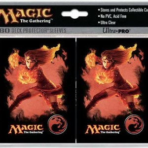 Ultra-Pro: Magic the Gathering Chandra (80 Count) Standard Deck Protective Sleeved