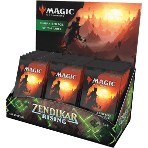 Magic The Gathering: Zendikar Rising – Set Booster Display