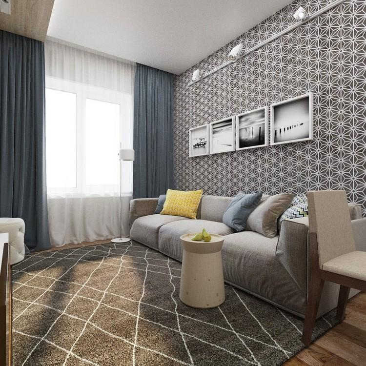 бюджетный дизайн квартир фото цвете