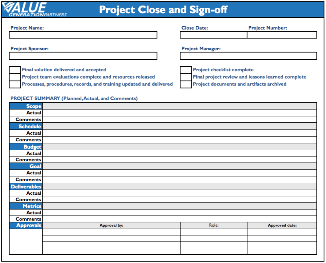 100 Project Closure Report Template – Bug Report Template