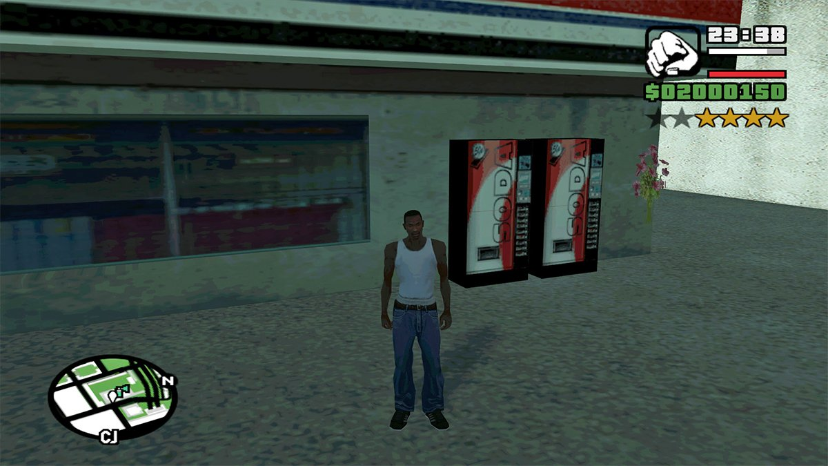 Grand Theft Auto Series The Video Game Soda Machine Project