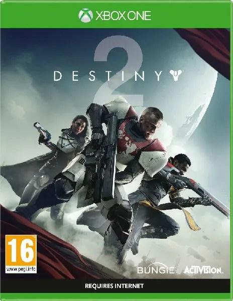 Destiny 2 Xbox One cover