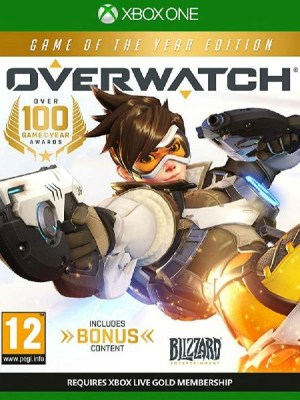 Overwatch Game of the Year Xbox One cover