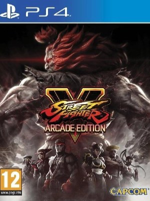 Street Fighter V Arcade PS4 cover