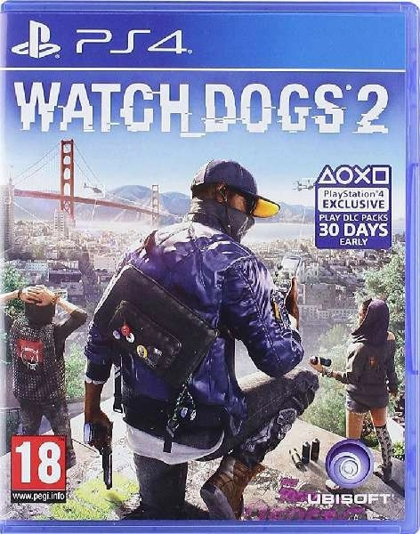 Watch Dogs 2 PS4 cover