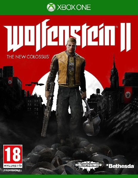 Wolfenstein II The New Colossus Xbox One cover