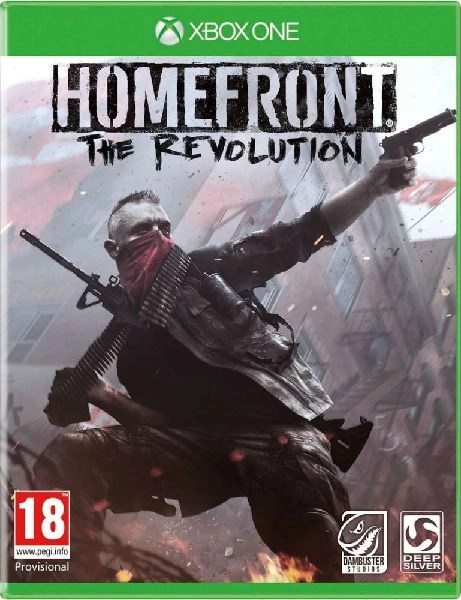 Homefront The Revolution Xbox One cover