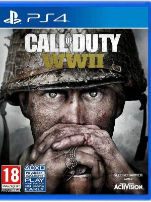 Call of Duty WWII Playstation 4 cover