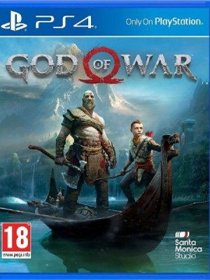 God of War Playstation 4 cover