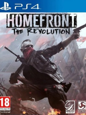 Homefront The Revolution PS4 cover