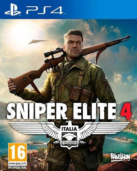 Sniper Elite 4 PS4 cover