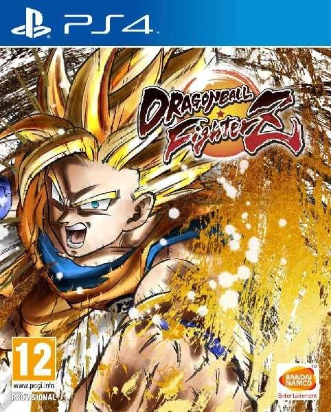 Dragonball Fighterz PS4 cover