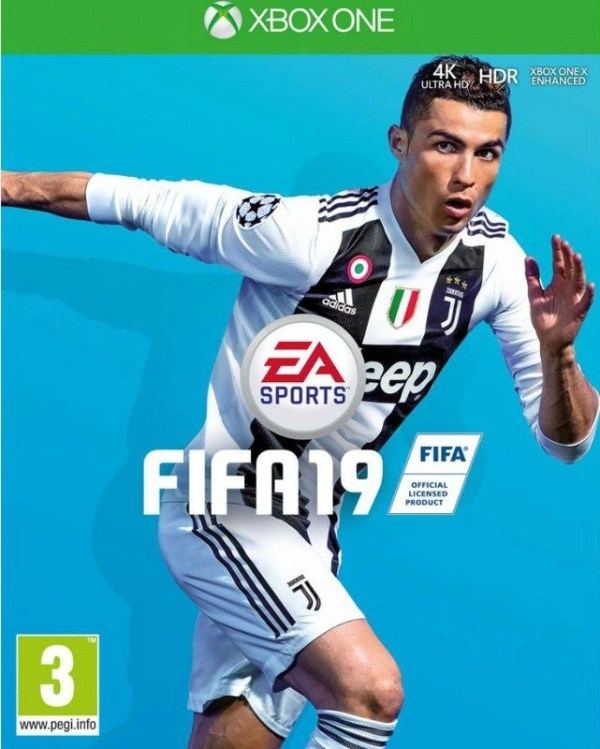 FIFA 19 Xbox one cover