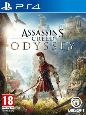 Assassin's Creed Odyssey Playstation 4 cover