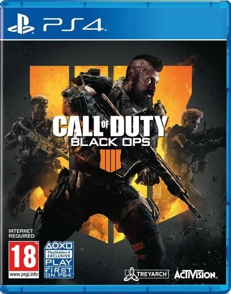 Call of Duty Black Ops 4 Playstation 4 cover