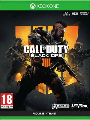 Call of Duty Black Ops 4 Xbox One cover