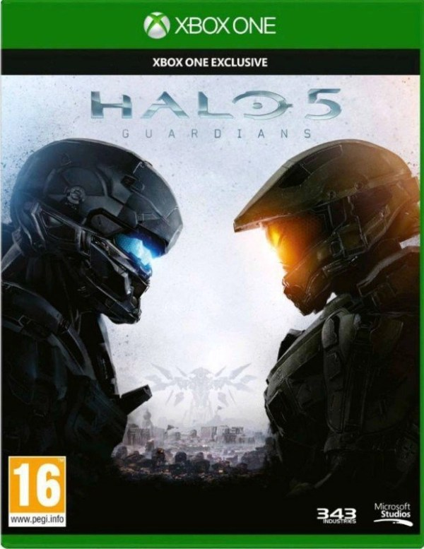 Halo 5 Guardians Xbox One cover
