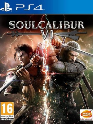 SoulCalibur VI PlayStation 4 cover