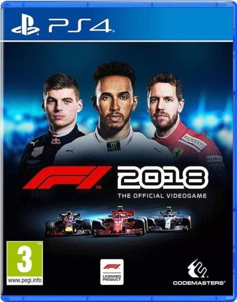 F1 2018 Playstation 4 cover