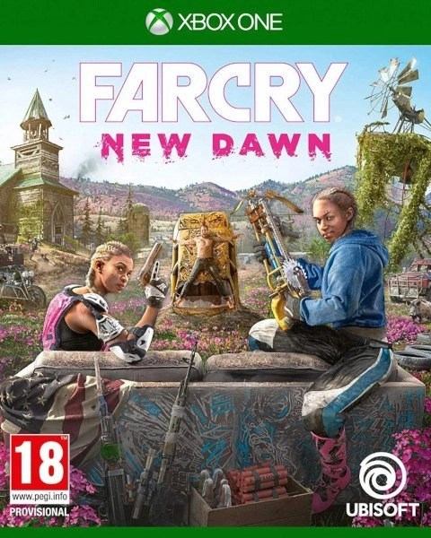 Far Cry New Dawn Xbox One cover