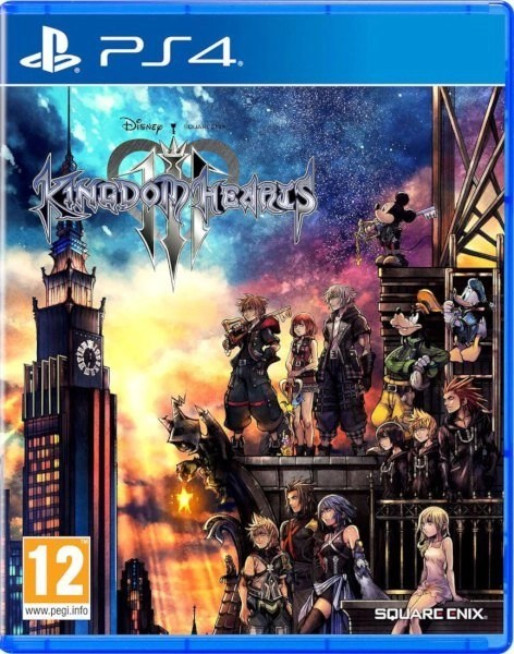 Kingdom Hearts 3 Playstation cover