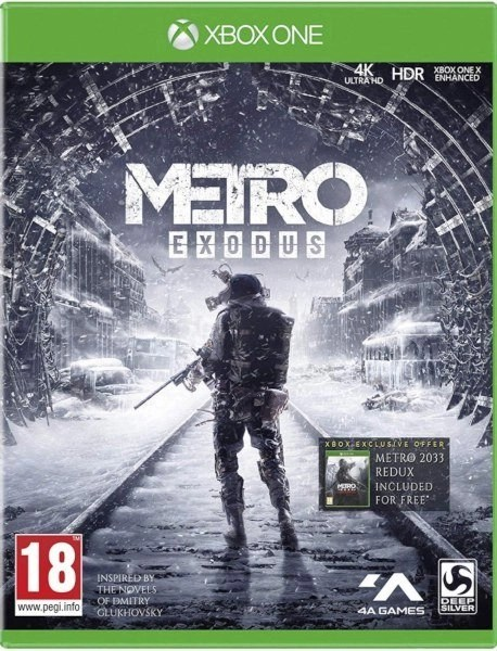 Metro Exodus Xbox One cover